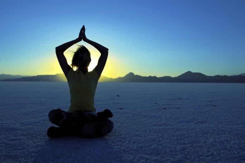 Nella meditazione come nella vita